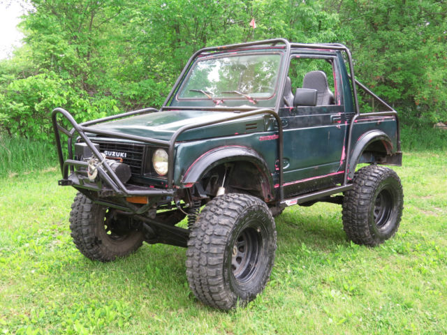 suzuki zuk off road rock crawler 4x4 samurai well built 4x4 propain locked axles for sale. Black Bedroom Furniture Sets. Home Design Ideas