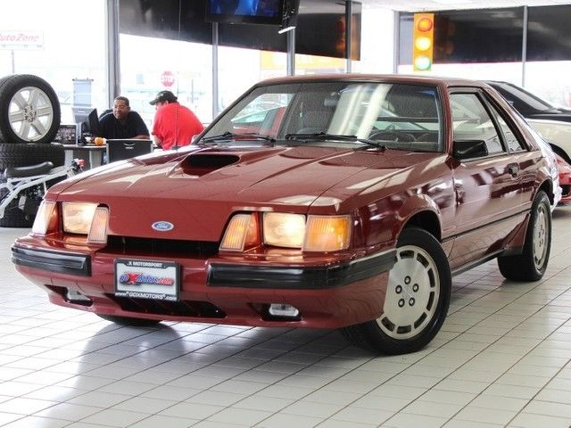 1984 Ford Mustang SVO Turbocharged 5-Spd Super Clean