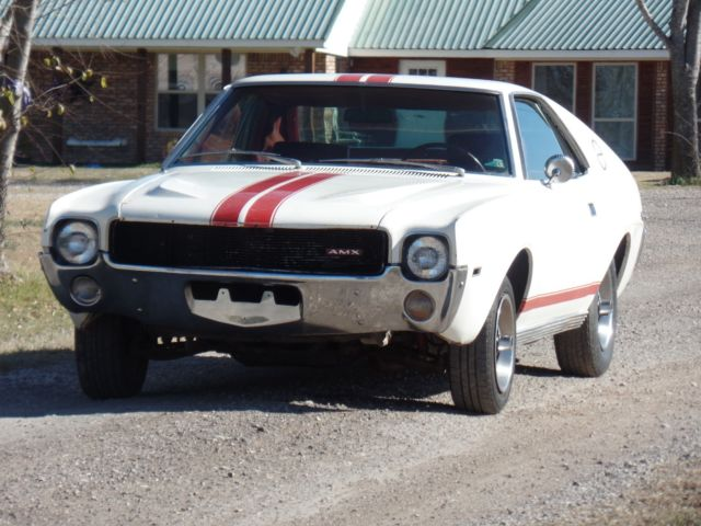 1968 AMC AMX X-CODE 390 4-SPEED w A/C