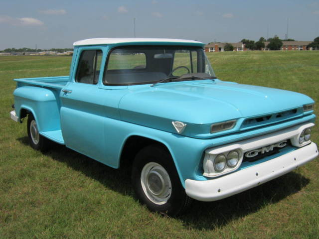 1962 GMC NEW PAINT, 5 NEW TIRES, NEW SEAT, DRIVES GREAT!! PICKUP TRUCK