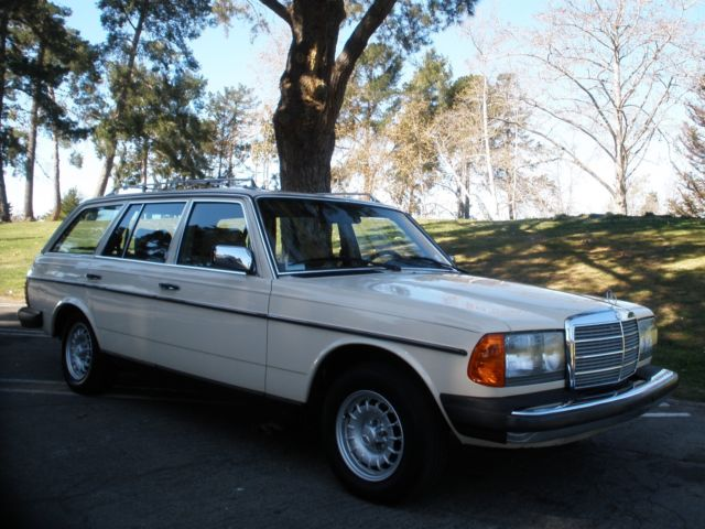 The closest thing to a brand new W123 wagon currently available on