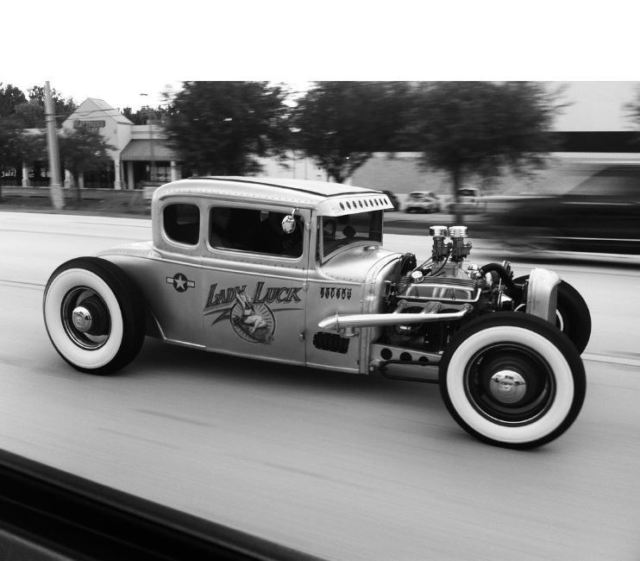1931 Ford Model A 5 WINDOW CHANNELED CHOPPED STREET MACHINE