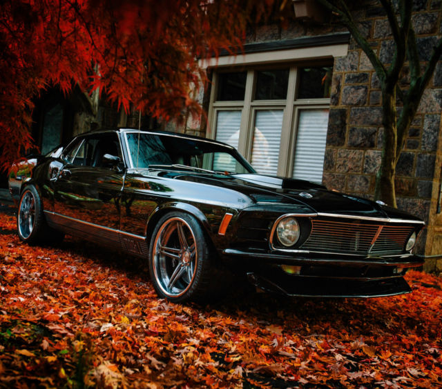 The Ultimate Pro Touring Mustang Fastback 1970 Mach 1 Pro