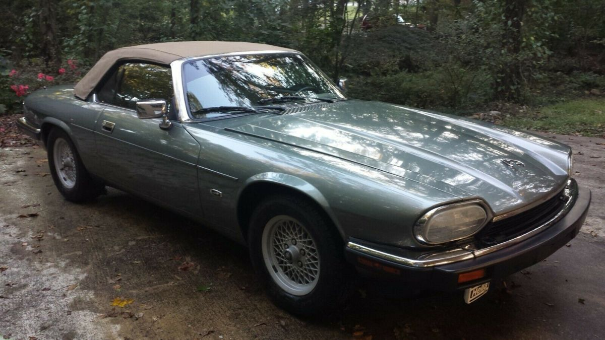 1993 Jaguar XJS .  This is a special one with a rare 5 spd. manual transmission
