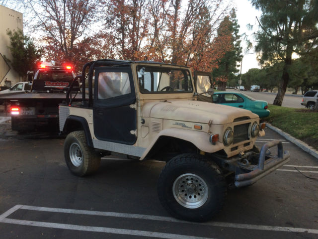 1973 Toyota FJ Cruiser ON REBUILT ENGINE