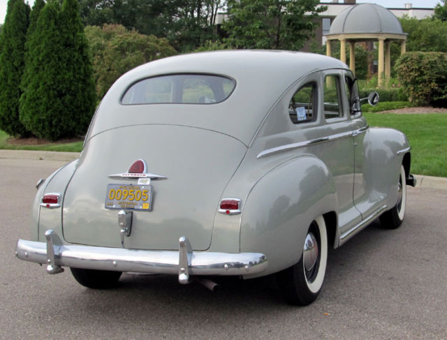 Three owner 1948 plymouth special deluxe sedan with 39 000 for 1948 plymouth 4 door sedan