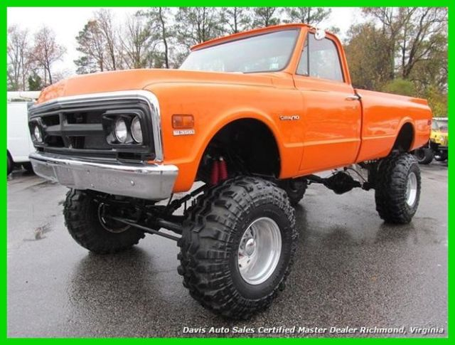 1968 GMC Other Custom 10 Chevrolet C20 Pickup Truck 5.7 V8 3/4