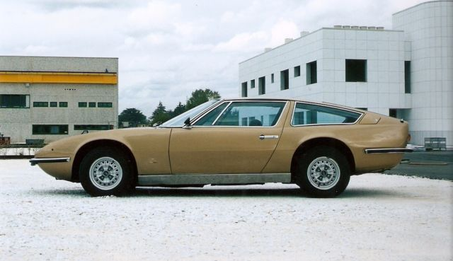 1970 Maserati Indy 4200 Chrome