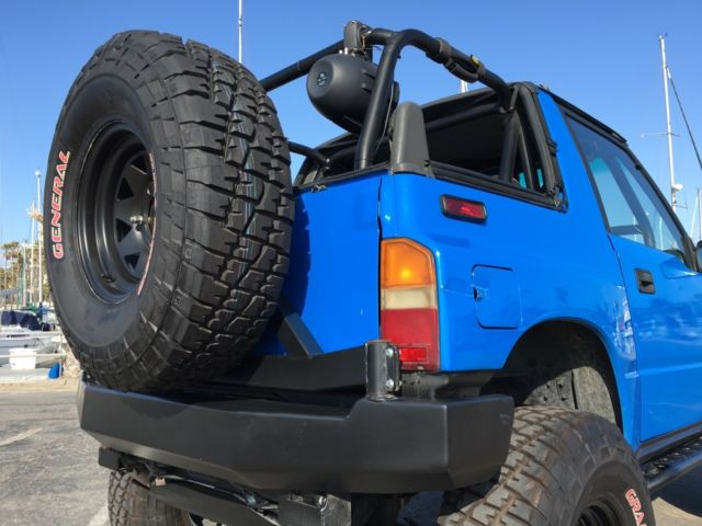 top gear actual vehicle 1992 4x4 lifted geo tracker extremely rare sidekick for sale photos. Black Bedroom Furniture Sets. Home Design Ideas