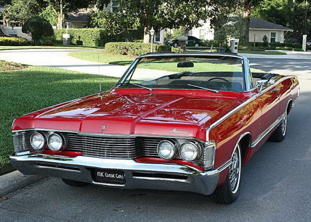 1968 Mercury Park Lane CONVERTIBLE - 390 V-8 - 36K MILES