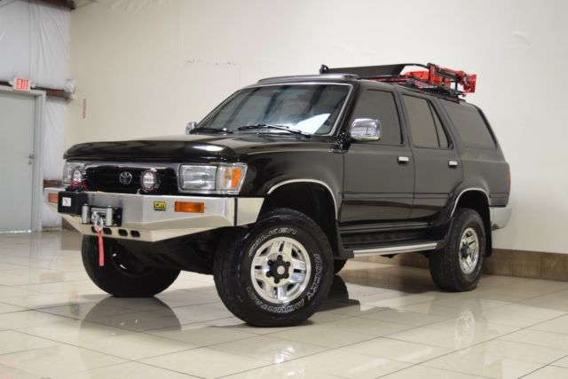 Toyota 4runner Lifted 4x4 Roof Basket Winch Sunroof Tow Timing Belt Rplcd 150 For Sale Photos