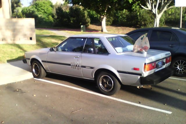 toyota corolla sr5 coupe 1982 with 3tc engine automatic for sale photos technical. Black Bedroom Furniture Sets. Home Design Ideas