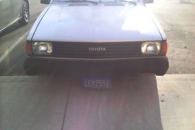 Toyota Corolla SR5 Coupe 1982 with 3TC Engine Automatic  for