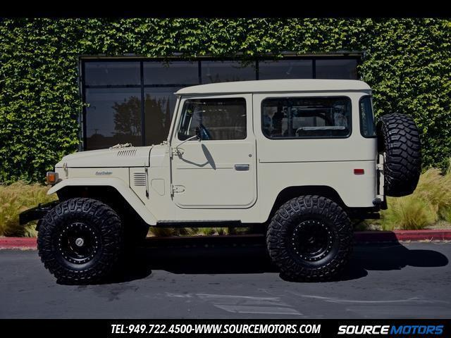 Toyota Fj40 Land Cruiser 4x4 4 Quot Lift Original Engine W