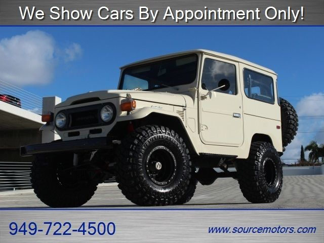 Toyota Fj40 Land Cruiser 4x4 Method Wheels 4 Quot Skyjacker