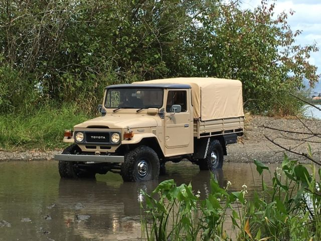 Toyota FJ45 4x4, Restored Turn Key Land Cruiser HJ45 FJ40 FJ for sale: photos, technical ...