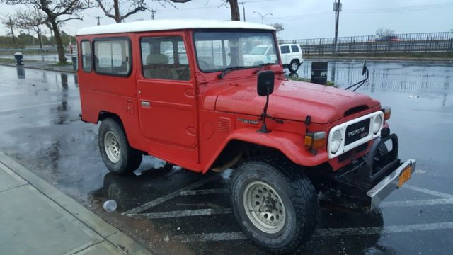 1980 Toyota Land Cruiser BJ44 BJ46 L-PACKAGE