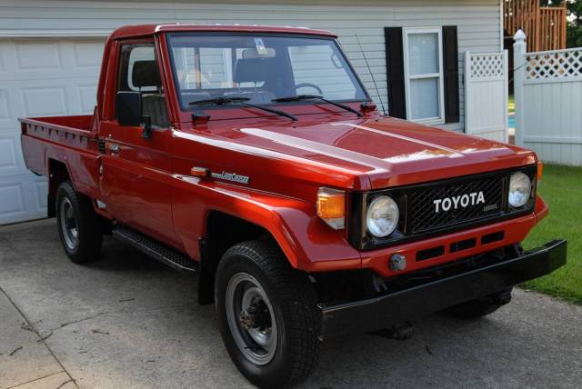 Toyota Diesel Truck >> Toyota Land Cruiser Bj75 Pickup Truck Very Low 40960