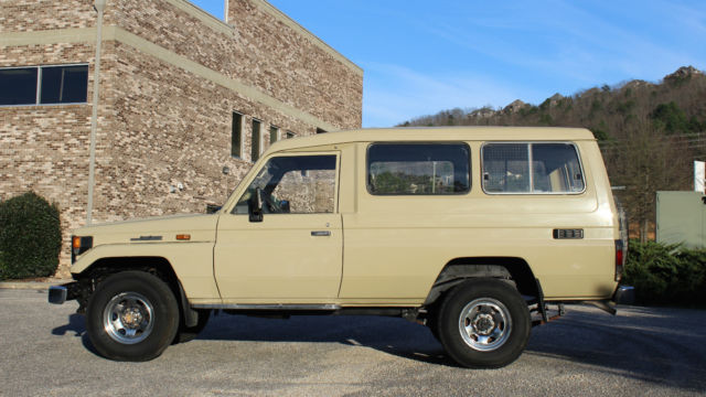 Toyota Land Cruiser Bj75 Troop Carrier For Sale Photos