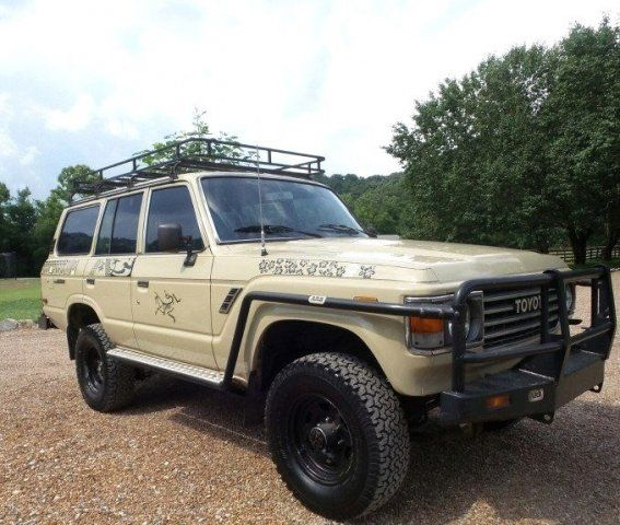 Toyota Land Cruiser Fj60 4wd Off Road Customized Suv