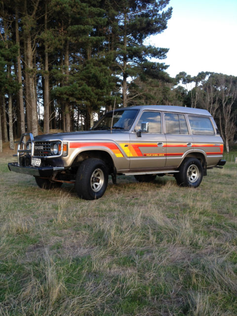 1987 Toyota Land Cruiser VX