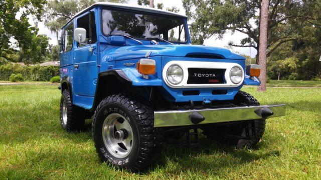 Toyota landcruiser BJ40, not FJ40  Land Cruiser Diesel  NO