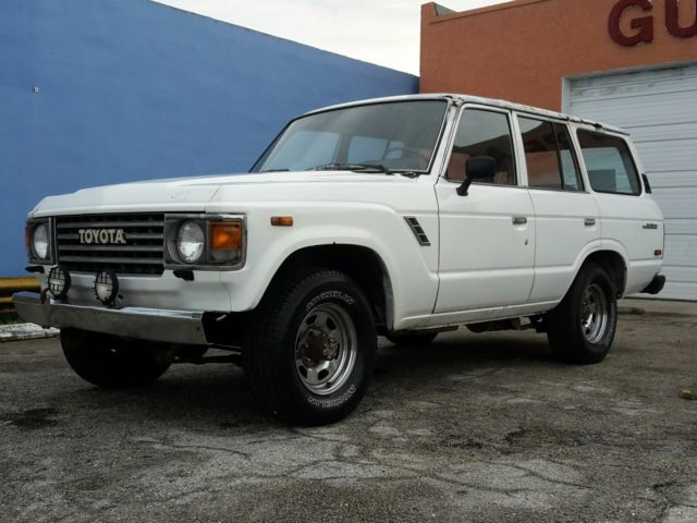 1985 Toyota Land Cruiser BLUE
