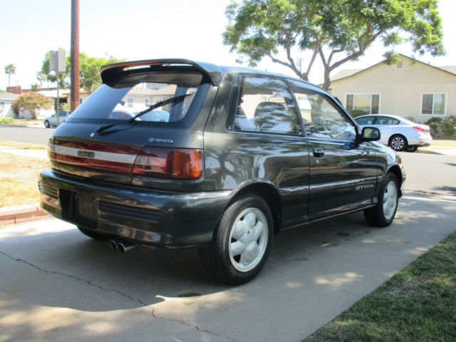 Toyota Starlet Ep Gt Turbo Rhd Jdm No Reserve Auction on 1991 Toyota Tercel Manual Transmission