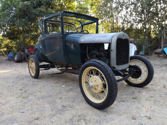 1929 Ford Model A Sport Coupe Convertible No Reserve!!!