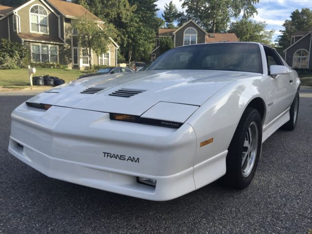 1986 Pontiac Trans Am TRANS AM LB9 G80 G92 J65 WS6 NOT GTA OR 1LE
