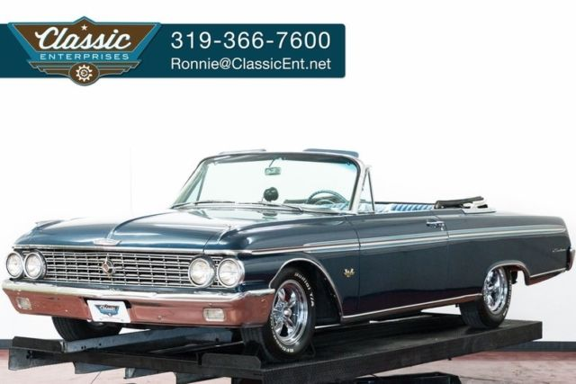 1962 Ford Galaxie 406 405 horse power two owner with low miles fast