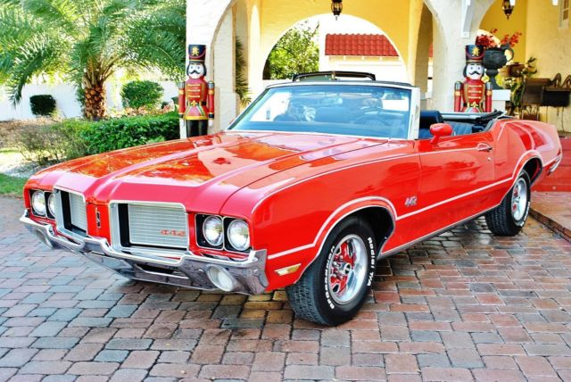 1972 Oldsmobile 442 Cutlass Supreme Convertible Fully Restored