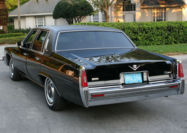 1977 Cadillac DeVille SEDAN - RARE TRIPLE BLACK - 58K MI