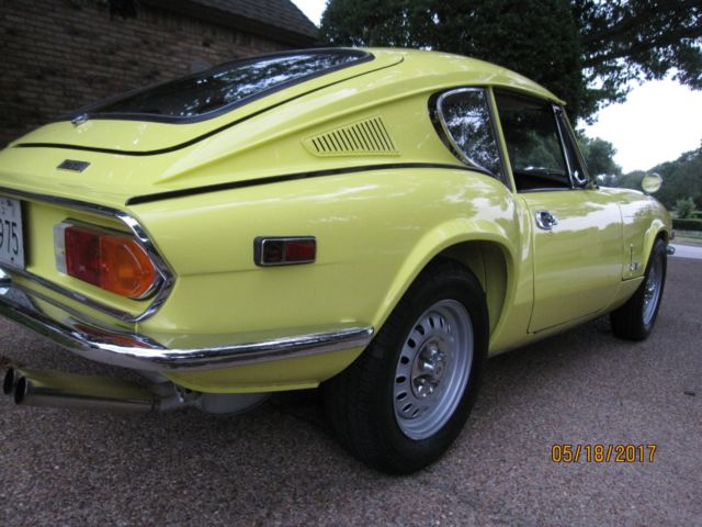Triumph Gt6 Mkiii For Sale Photos Technical Specifications