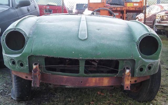Triumph Spitfire 1967 1968 For Parts Or Restoration Complete Frame