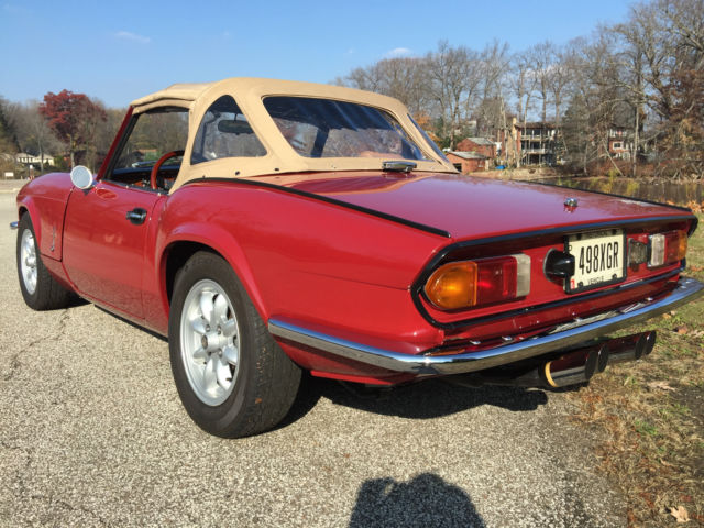 Triumph Spitfire W Overdirve And Leather For Sale Photos Technical
