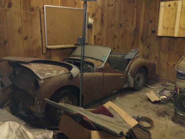 Triumph TR3 for parts or restoration for sale: photos, technical