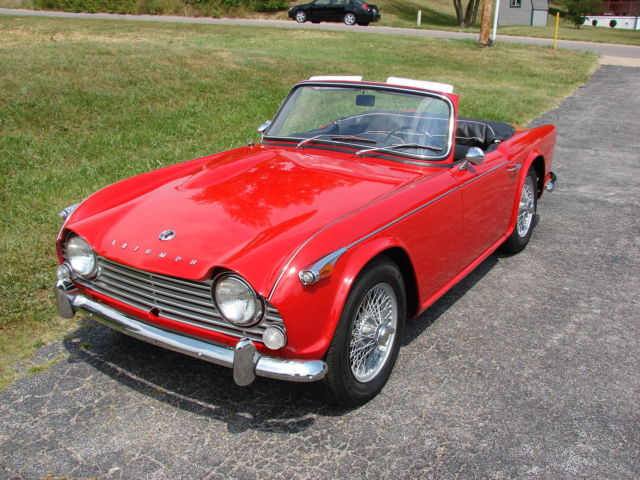 TRIUMPH TR4A, IRS, OVERDRIVE & WIRE WHEELS for sale: photos