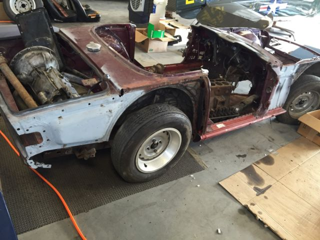 Triumph Tr6 Restoration Project For Sale Photos Technical