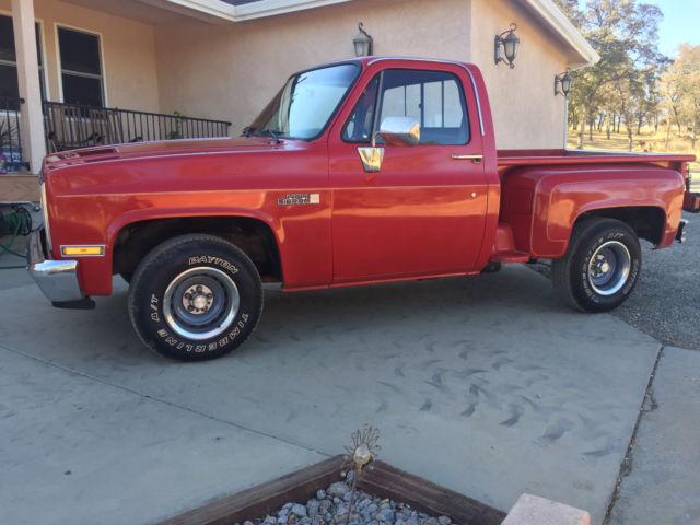 Edmonton Area Chevrolet Pickup Trucks For Sale Buy Used: Truck Gmc High Sierra Shortbed Stepside Chevy For Sale