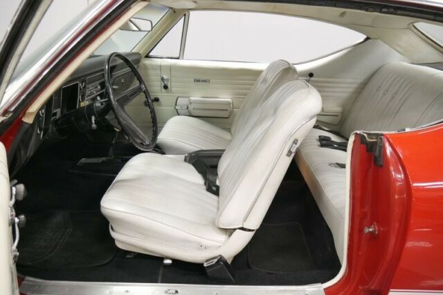 1968 Red Chevrolet Chevelle SS 396 Hardtop with Parchment interior