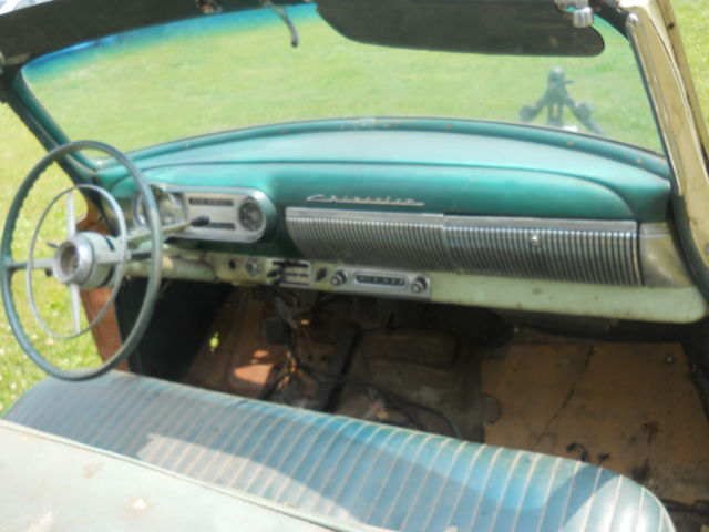 True 1953 53 Chevy Bel Air Convertible Restoration Project Car For