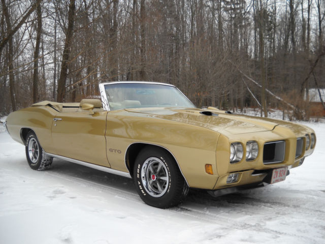 1970 Pontiac GTO True #'s Matching Ram Air III Upgrades