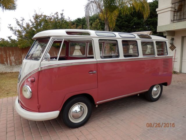 1961 Volkswagen Bus/Vanagon True 23 window