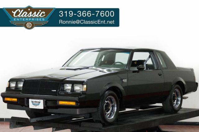 1987 Buick Regal Grand National 41k miles power roof air windows
