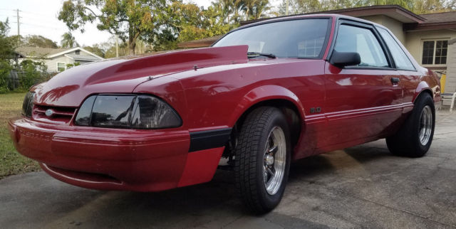 Turbo Coyote Swap Fox body Mustang E85 5 speed TKO trans