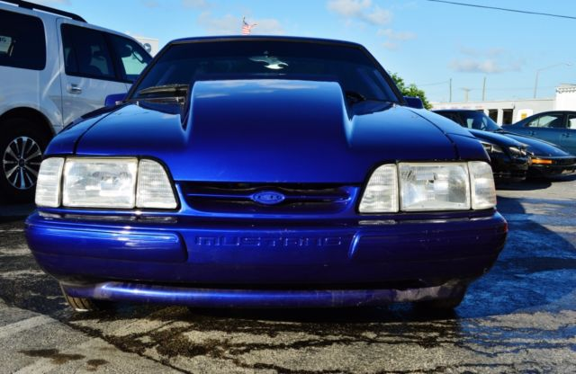 1988 Ford Mustang DART/BRODIX/FAST/ TURBO FORD