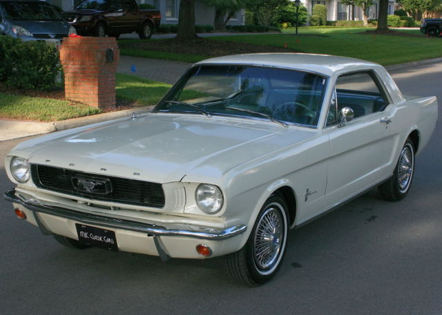 1966 Ford Mustang TWO OWNER - A/C  - 71K MILES