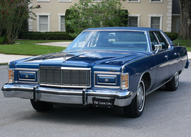 1977 Mercury Grand Marquis BROUGHAM - TWO OWNER - 19K MI