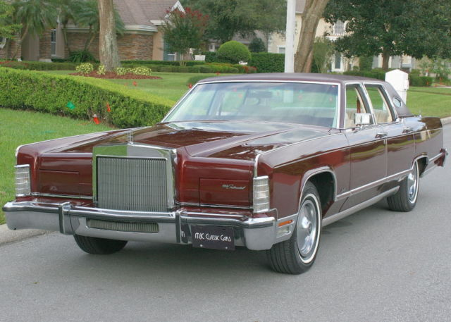 1978 Lincoln Town Car TOWNCAR - TWO OWNER - 39K MILES